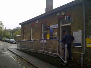 Westcombe Park station 2013 - 2
